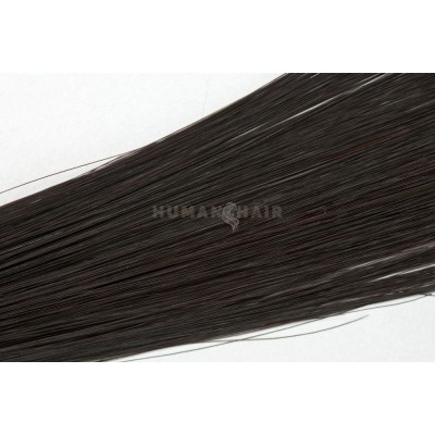 Clip in vlasy 50cm - Tmavě Hnědá barva