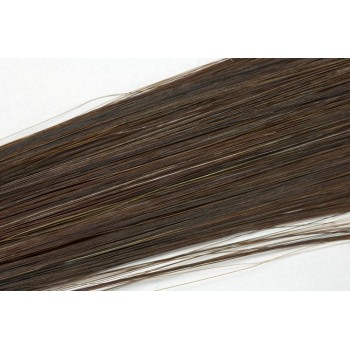 Clip in vlasy 50cm - Tmavší hnědá barva