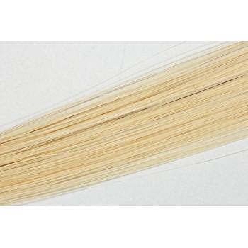 Clip in vlasy 50cm - Velmi světlá blond barva