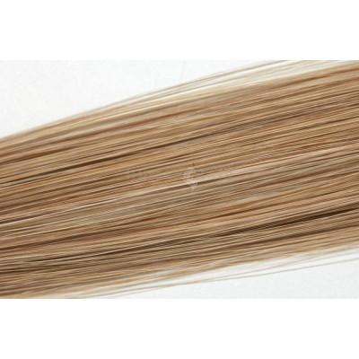 Clip in vlasy 30cm - Popelavá tmavá blond barva