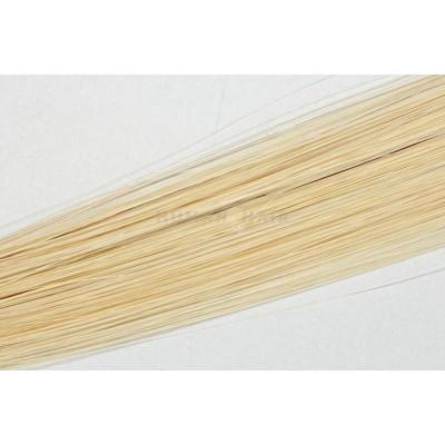 Clip in vlasy 30cm - Velmi světlá blond barva