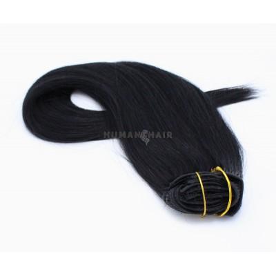 Rovný clip in set 50cm - černá