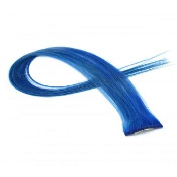 Clip in pramínek - modrý