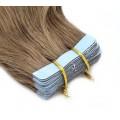 Kudrnaté tape in 60cm - světle hnědá