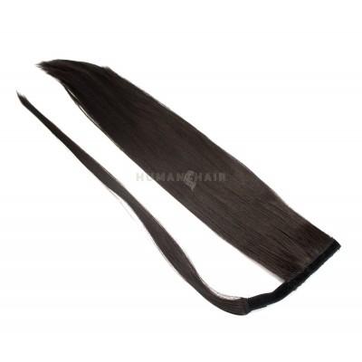 Clip in culík 100% japonský kanekalon 60cm - přírodní černá