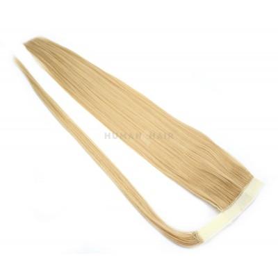 Clip in culík 100% japonský kanekalon 60cm - přírodní blond