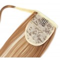 Clip in culík 100% japonský kanekalon 60cm - světlý melír