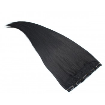Clip in pás japonský kanekalon 60cm - černá