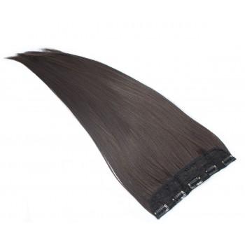 Clip in pás japonský kanekalon 60cm - přírodní černá