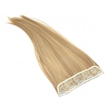Clip in pás japonský kanekalon 60cm - přírodní/světlejší blond