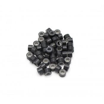 Micro ring kroužky se silikonem (50ks)