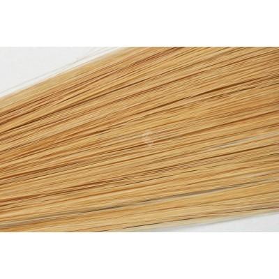 Clip in vlasy 50cm - Tmavá blond medová barva