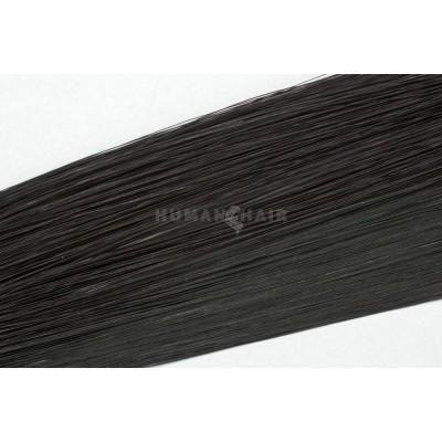 Clip in vlasy 50cm - Černá barva